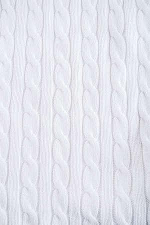 White linen fabric weaving background