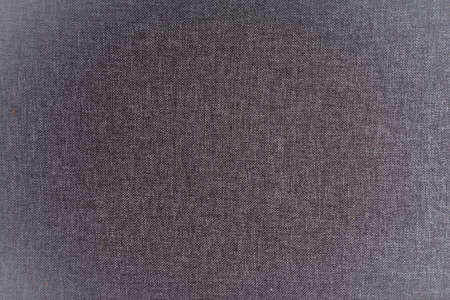 Gray linen fabric weaving background Standard-Bild - 129454481