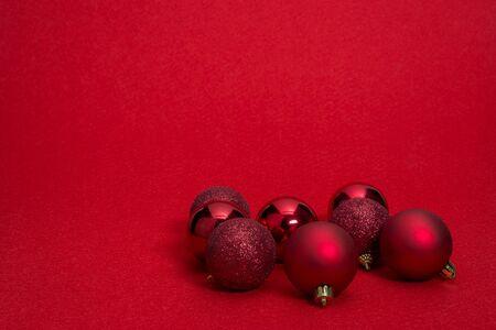 gold ornaments: Christmas decorations, Christmas ball Stock Photo
