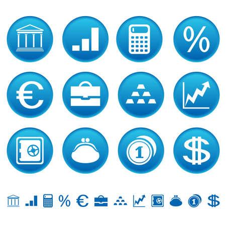 銀行と金融のアイコン