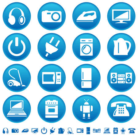 standby: Home appliances icons