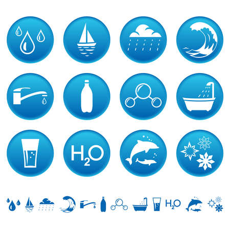 watery: Water icons