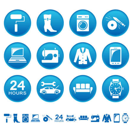 Service and repair icons 版權商用圖片 - 28915101
