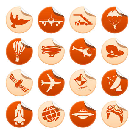 aeronautics: Aircraft stickers