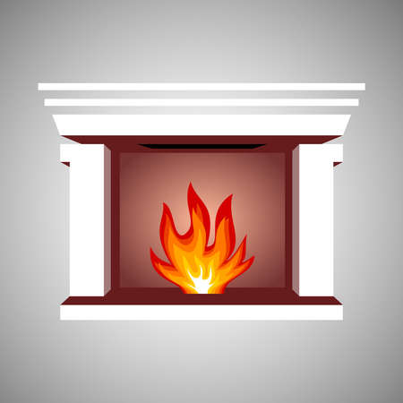warmly: Fireplace symbol