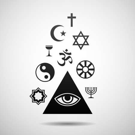 religions: Religions symbols