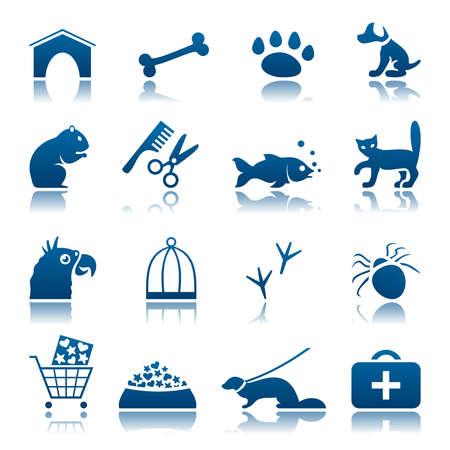 pets icon: Pets icon set