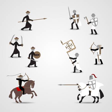 Crusaders and saracens