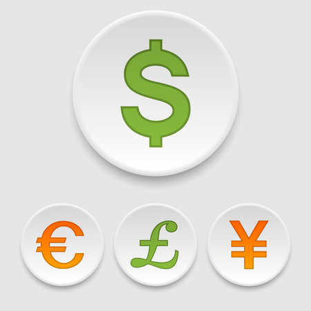 japanese currency: Currency icons
