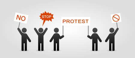 icona protesta