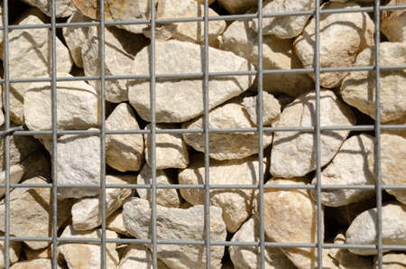 Beautiful background of sandstone and mesh Reklamní fotografie