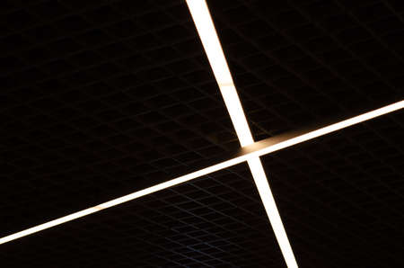 Abstract Ceiling Lamp looks like jedi sword