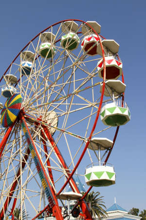 ferris-wheel at a local fair in port elizabeth Stock Photo - 7493861