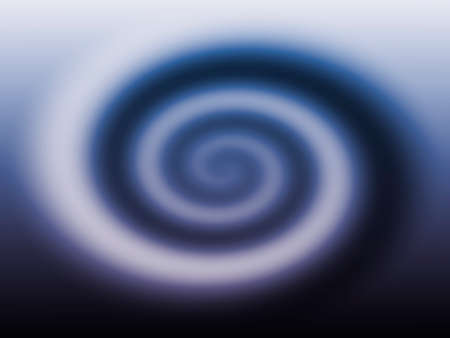 Soft out of focus twirl gradient background in shades of blue  photo