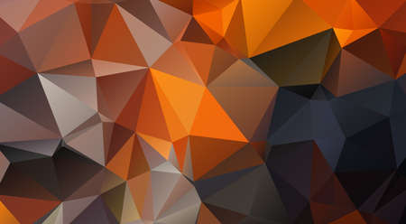 triangle shaped: contrasty triangle shaped background made up of orange,black and grey colours Stock Photo