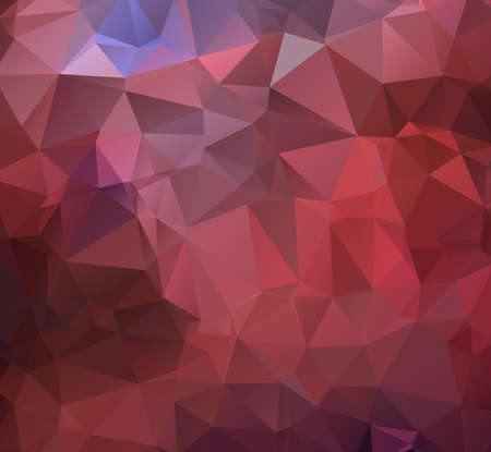triangle shaped: Modern triangle shaped background in shades of pink,blue and red