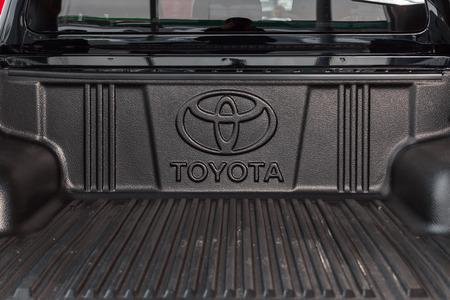 Vinnitsa, Ukraine - March 18, 2018. Toyota Hilux concept car - trunk