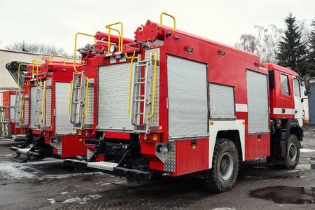 Camion de pompier pompier