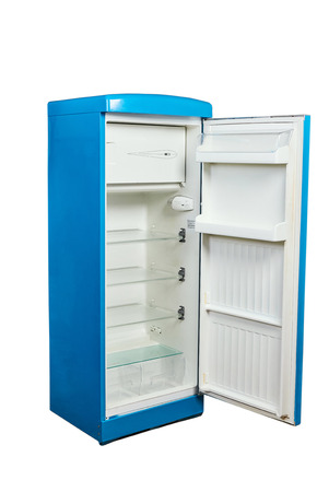 Vintage design blue fridge - Chill Box