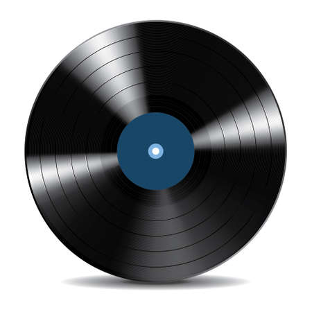 Vinyl Record Disc Stock Illustratie