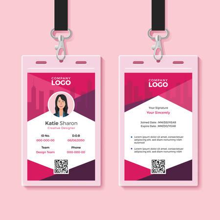 Modern Identity Card Design Template