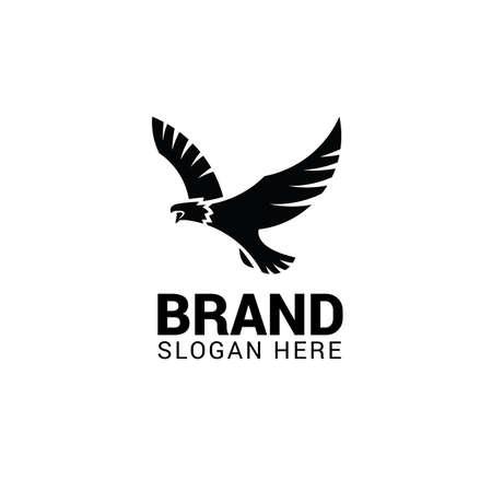 Flying eagle logo template