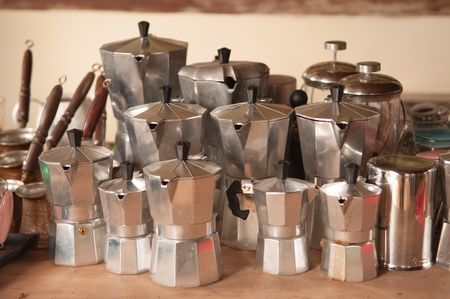 Italian coffee maker photo