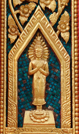 Buddha carving photo