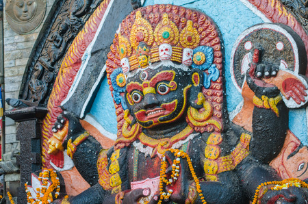 Kala Bhairava  Stock Photo - 24609059