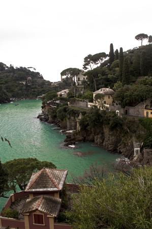 excursions: glimpse of the landscape near Portofino