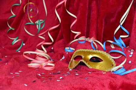 the carnival mask. Standard-Bild