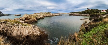 cantabrian: Cantabrian Sea coast Stock Photo