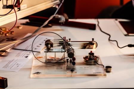 Steam Machine Science Stock Photo - 23816096