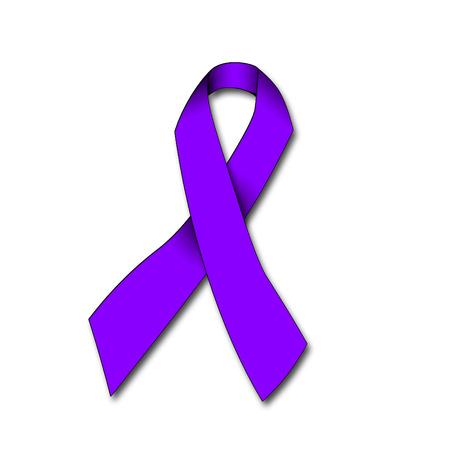 domestiÑ: ilustración de una cinta contra la violencia doméstica