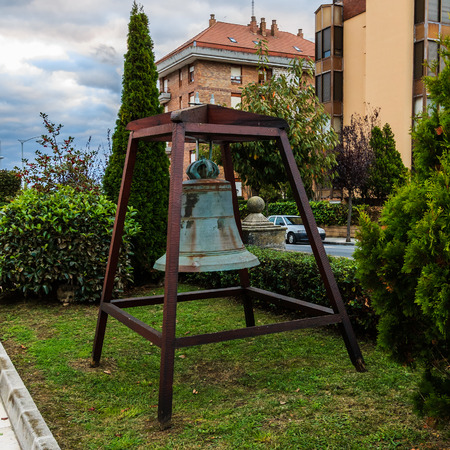 Old bell in Castro Urdiales