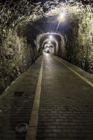 Stone tunnel photo