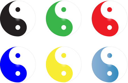 Yin yang Stock Vector - 26827812