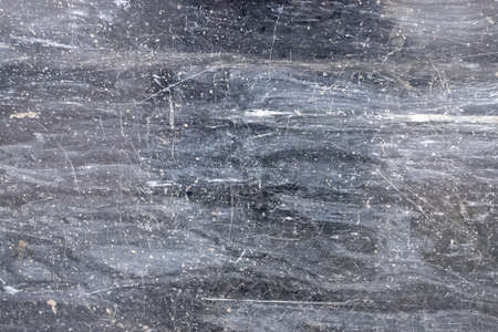 dark gray marble texture with scratches. Natural patterned stone for background, copy space and design. Abstract marble stone surface. Gray color, backdrop