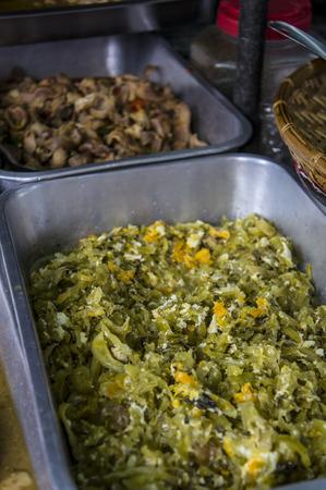 protien: stir fried pickkle cabbage