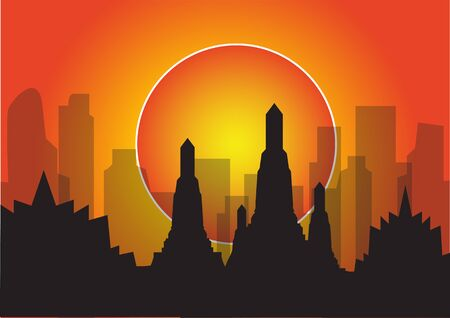 highrise building silhouette icon