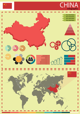 nation: China vector illustration country nation national culture Illustration