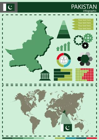 national culture: illustration Pakistan country nation national culture Illustration
