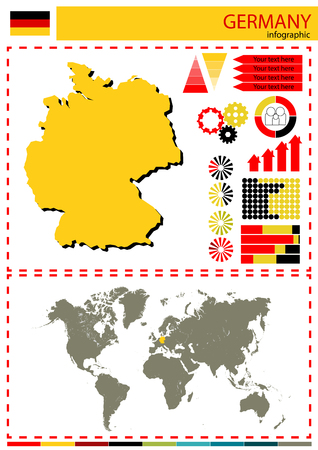 nation: vector Germany illustration country nation national culture Illustration