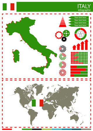 national culture: vector Italy illustration country nation national culture