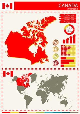 national culture: vector Canada illustration country nation national culture