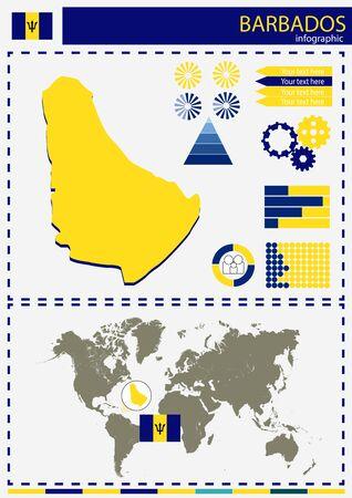 national culture: vector Babados illustration country nation national culture Illustration