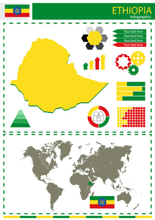 ethiopia: vector Ethiopia illustration country nation national culture