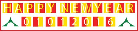 begin: happy new year 1st jan holiday start begin