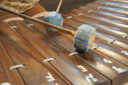 tuneful: Thai national music instrument ancient ranard