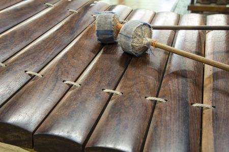 tuneful: Thai national music instrument ancient ranard